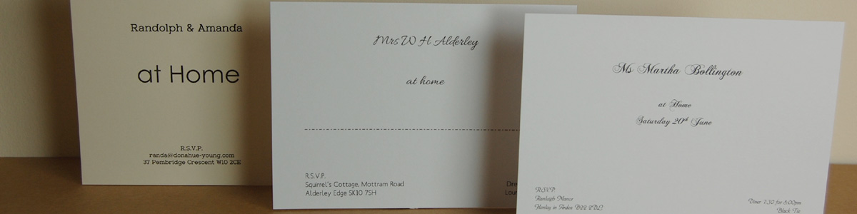 Personalised Stationery - At Home