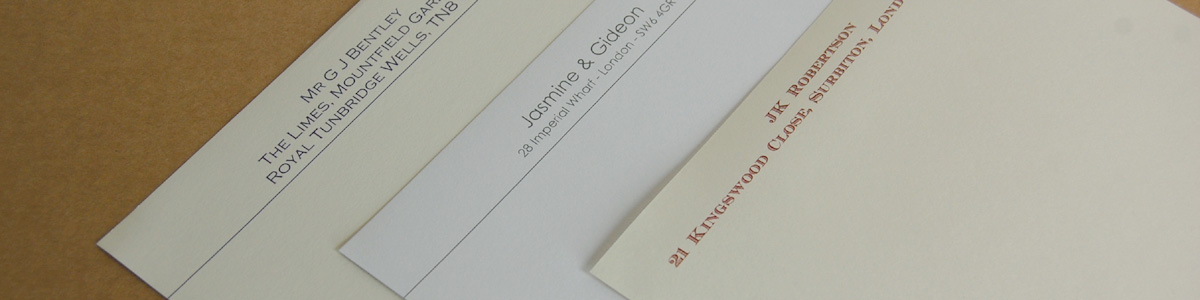 Personalised Stationery - Letterheads