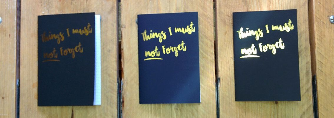 Personalised Stationery - A5 Notebooks