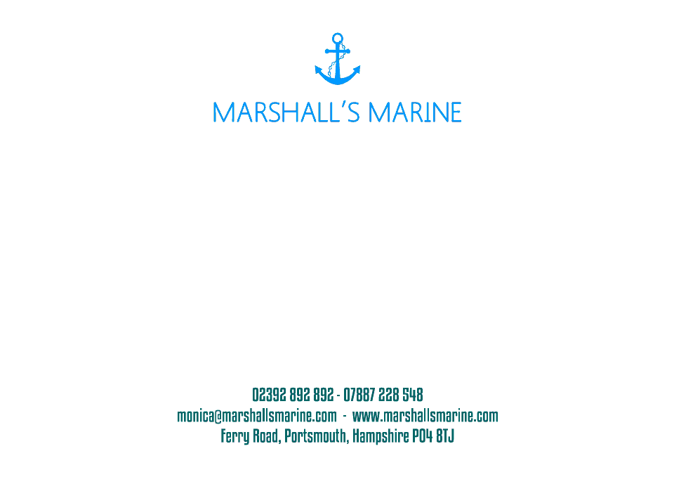 Personalised Stationery : Motif Postcards : Marshall