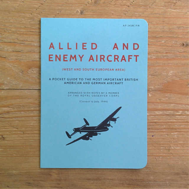 Personalised Stationery : Plain : Aircraft Book
