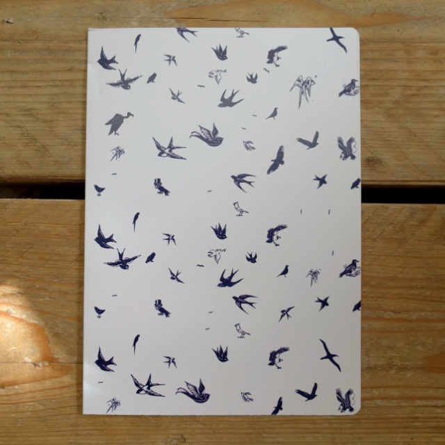 Personalised Stationery : Grid Ruled : Birds