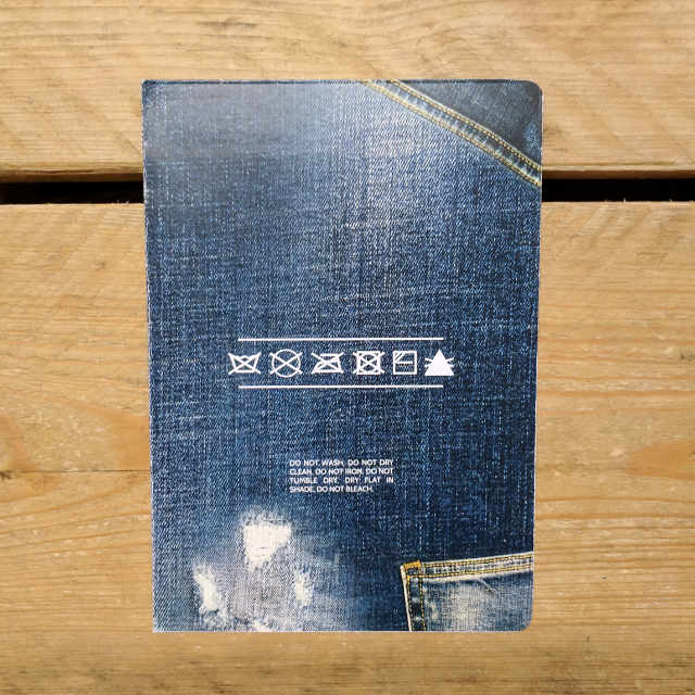 Denim Seyes Ruled | Design, proof and buy online | Personalised Stationery