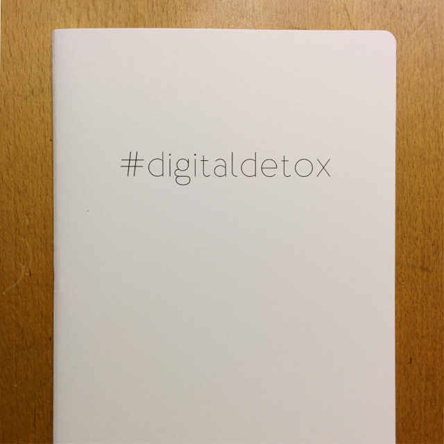 Personalised Stationery : Grid Ruled : Detox Natural