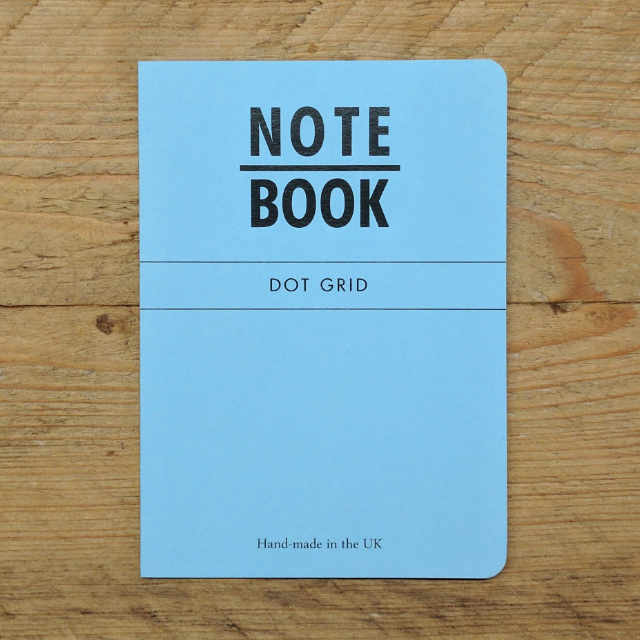 Blue Dot Grid | Design, proof and buy online | Personalised Stationery