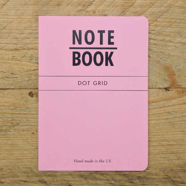 Personalised Stationery : Dot Grid : Pink