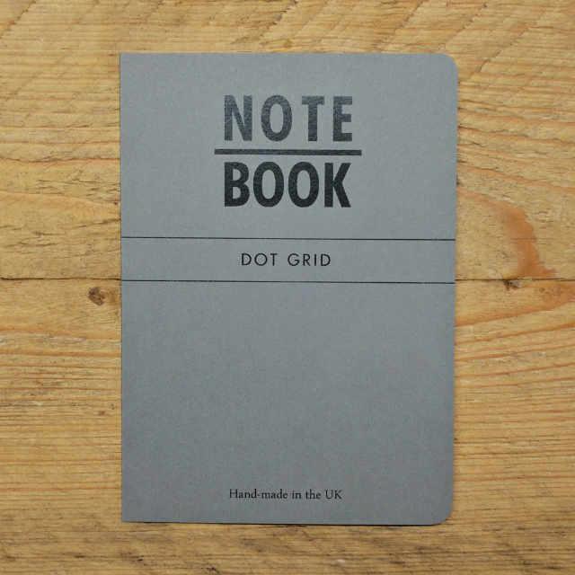 Personalised Stationery : Dot Grid : Slate