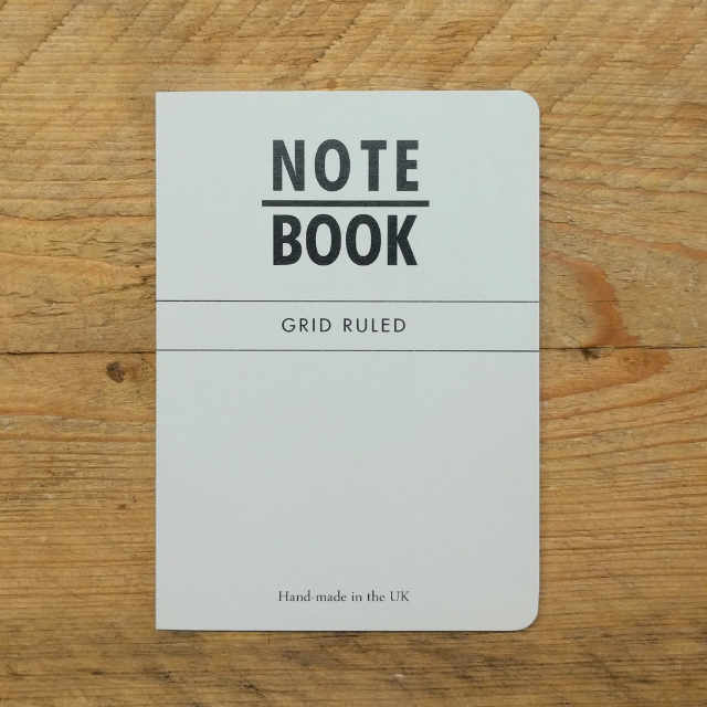 Personalised Stationery : Grid Ruled : Grey
