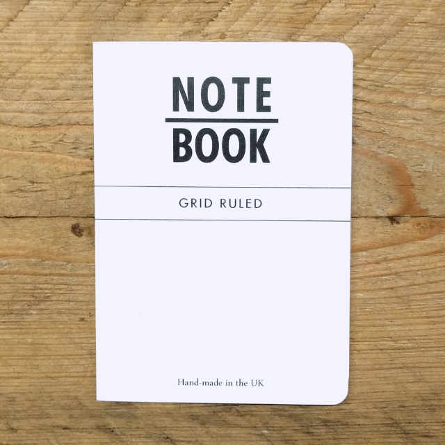 Personalised Stationery : Grid Ruled : Natural