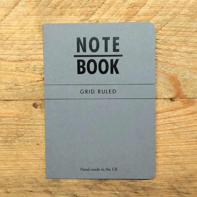 Personalised Stationery : Grid Ruled : Slate