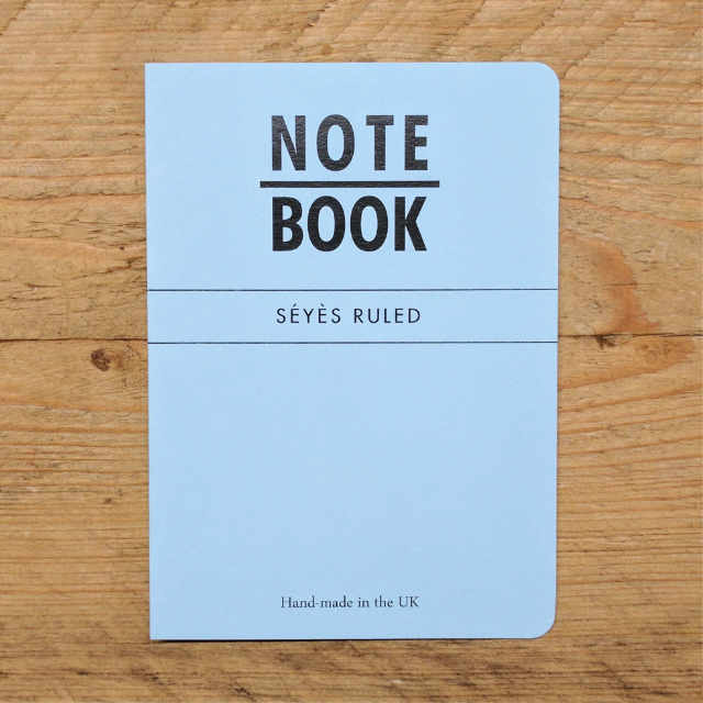 Personalised Stationery : Seyes Ruled : Blue