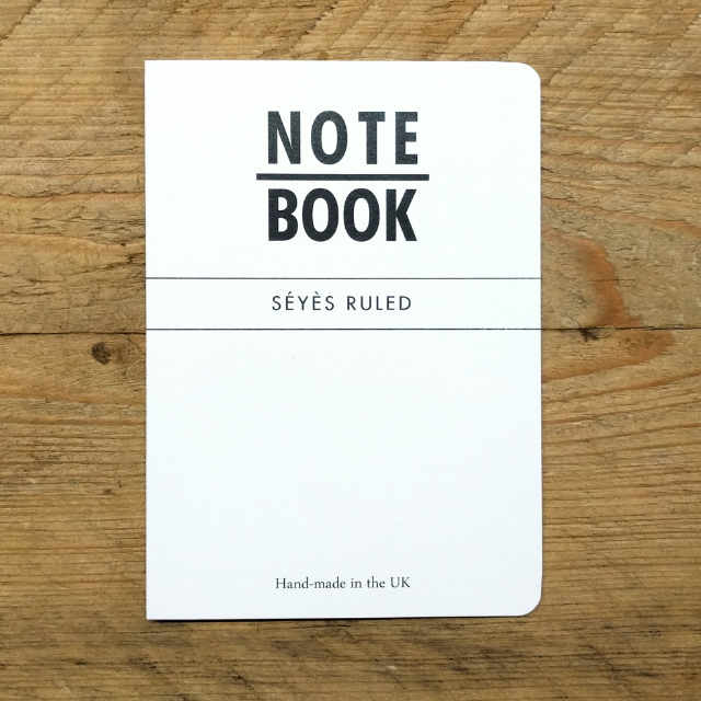 Personalised Stationery : Seyes Ruled : Natural