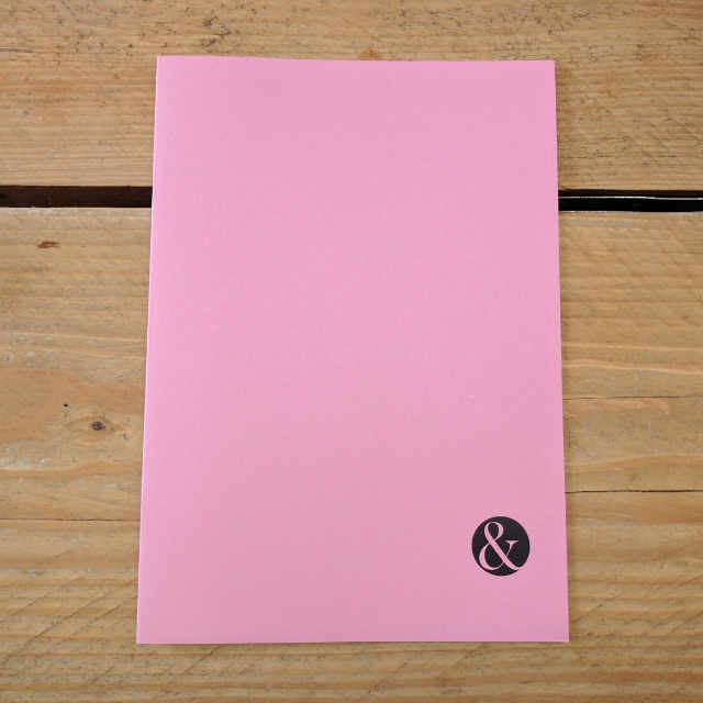 Personalised Stationery : Seyes Ruled : Pink