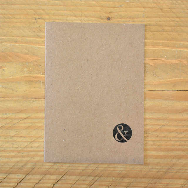 Journal Kraft Plain | Design, proof and buy online | Personalised Stationery