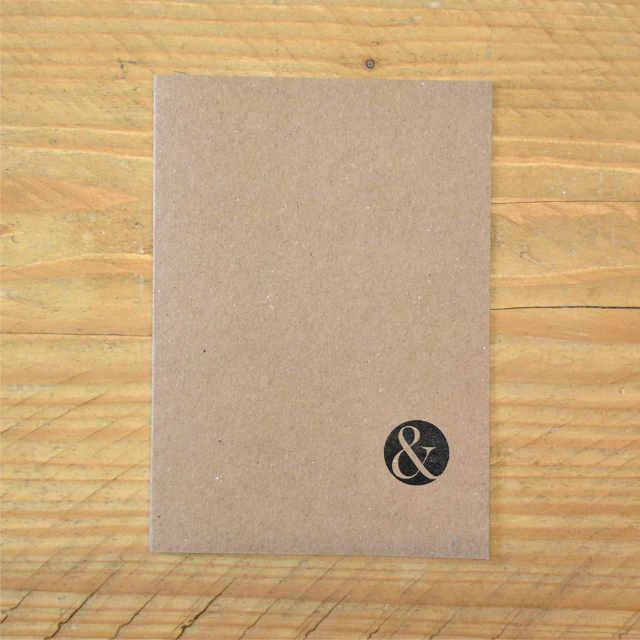 Personalised Stationery : Dot Grid : Journal Kraft