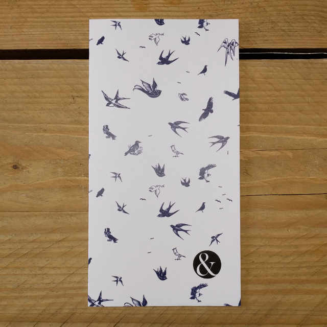 Birds Plain | Design, proof and buy online | Personalised Stationery