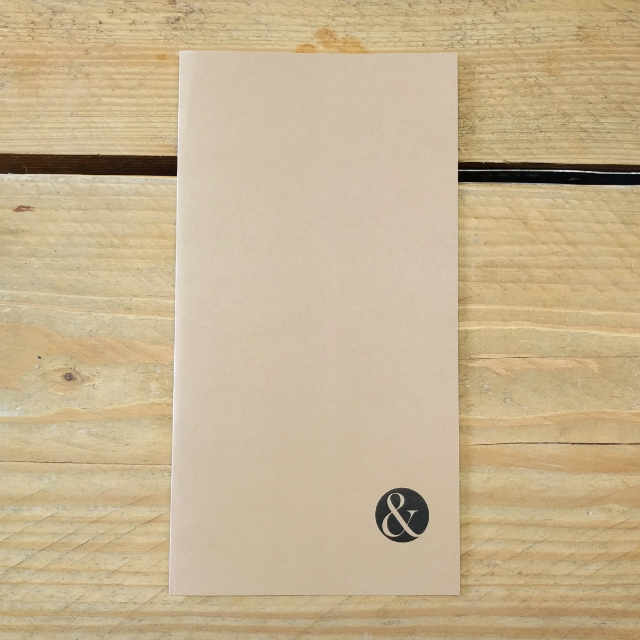 Personalised Stationery : Grid Ruled : Brown Wove