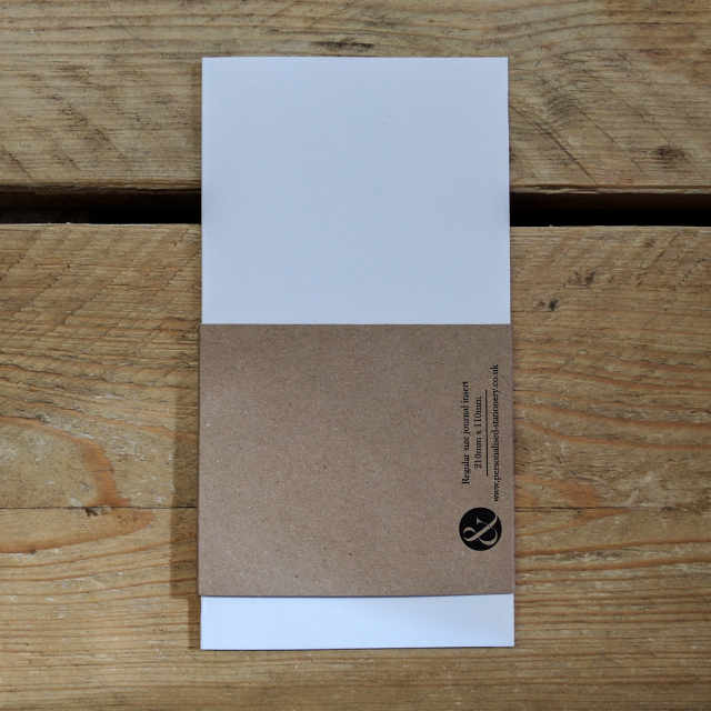 Personalised Stationery : Grid Ruled : Journal Natural