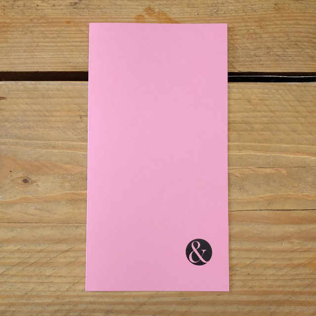 Pink Plain | Design, proof and buy online | Personalised Stationery