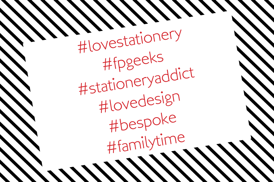 Hashtag Business Cards | Design, proof and buy online | Personalised Stationery