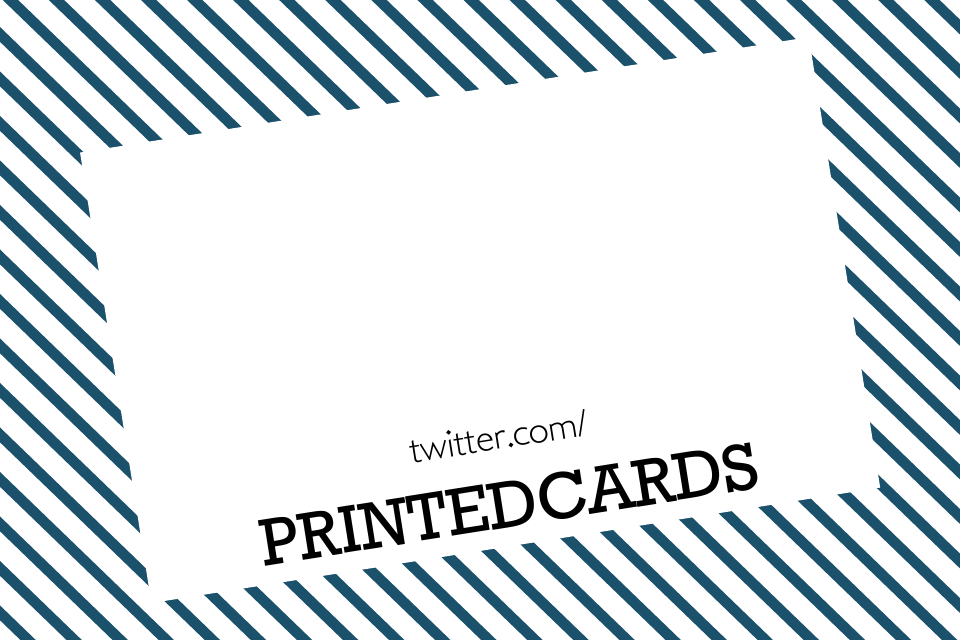 Tweet Business Cards | Design, proof and buy online | Personalised Stationery