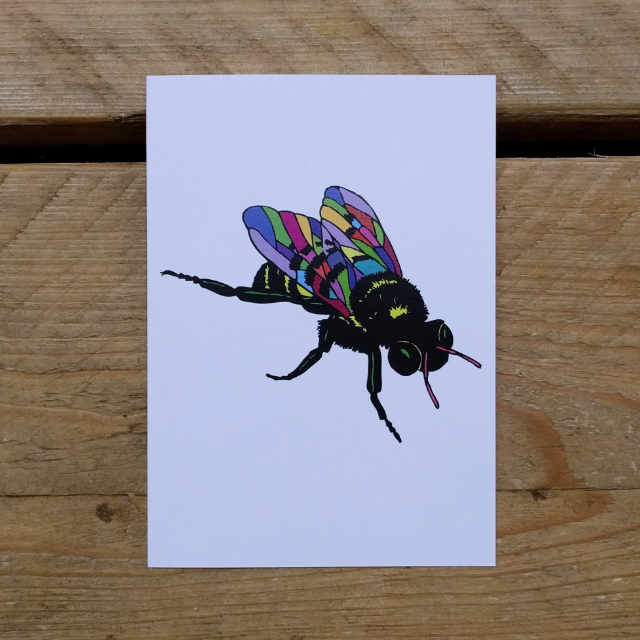 Personalised Stationery : A6 Note Card : Abella