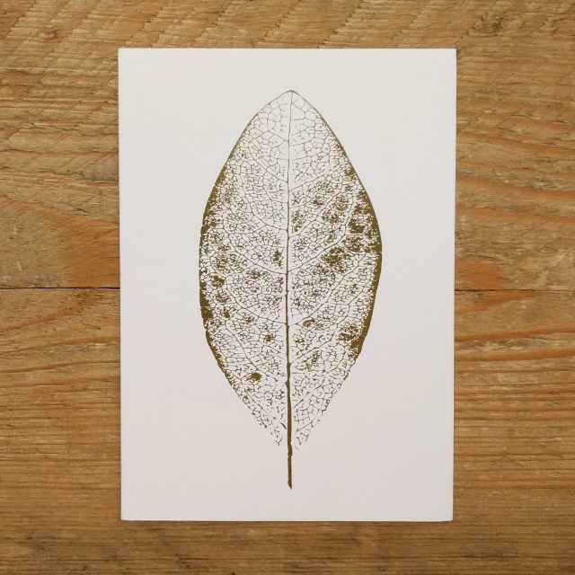 Personalised Stationery : A6 Note Card : Feuille