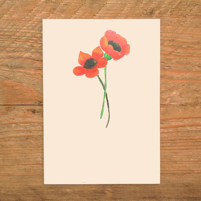 Personalised Stationery : A6 Note Card : Flandres