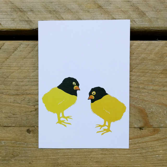 Personalised Stationery : A6 Note Card : Tibud