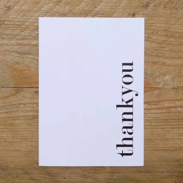 Personalised Stationery : A6 Note Card : Fosse