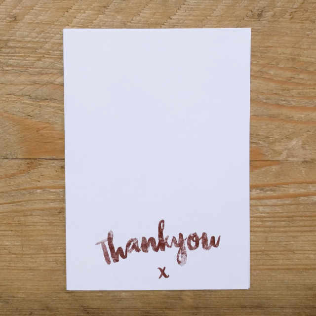 Rathbone A6 Note Card | Design, proof and buy online | Personalised Stationery