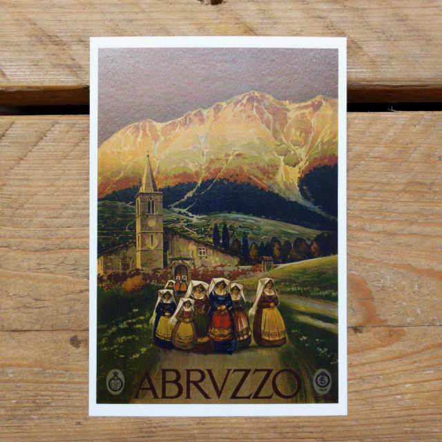 Abruzzo Demi Quarto Postcard | Design, proof and buy online | Personalised Stationery