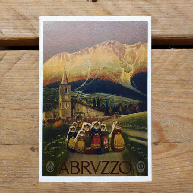 Personalised Stationery : Demi Quarto Postcard : Abruzzo