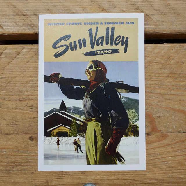 Personalised Stationery : Demi Quarto Postcard : Idaho