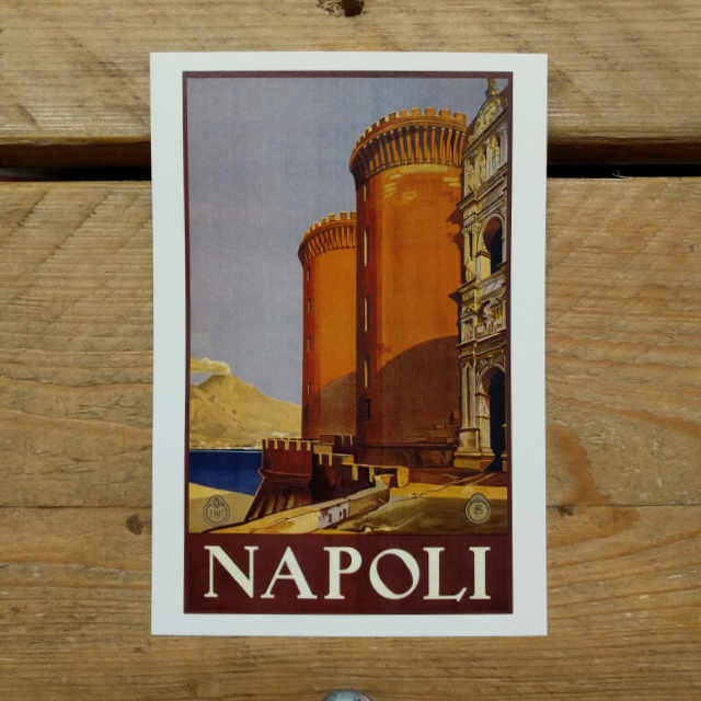 Napoli Demi Quarto Postcard | Design, proof and buy online | Personalised Stationery