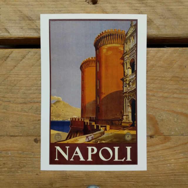 Personalised Stationery : Demi Quarto Postcard : Napoli