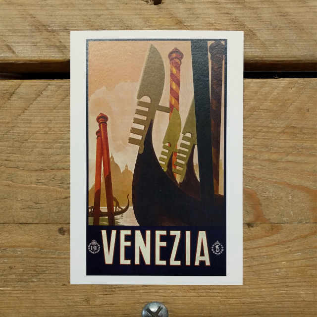 Venezia Demi Quarto Postcard | Design, proof and buy online | Personalised Stationery
