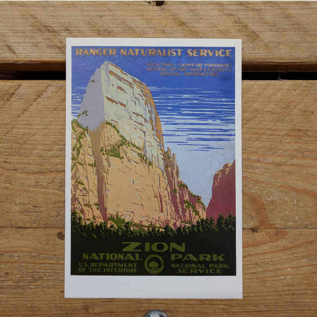 Zion Demi Quarto Postcard | Design, proof and buy online | Personalised Stationery