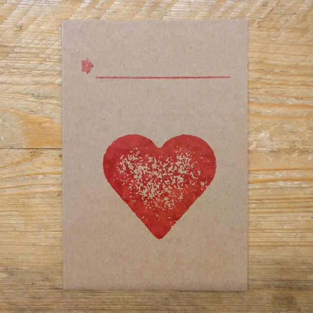 Personalised Stationery : Demi Quarto Note Card : Cor