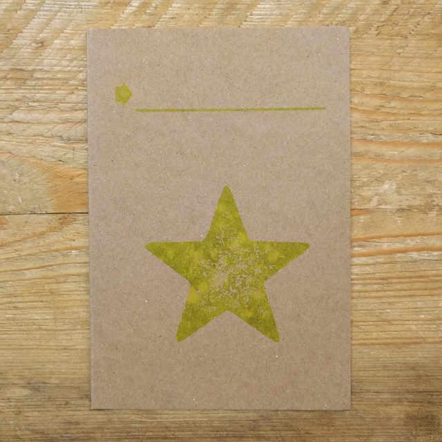 Personalised Stationery : Demi Quarto Note Card : Pegasi
