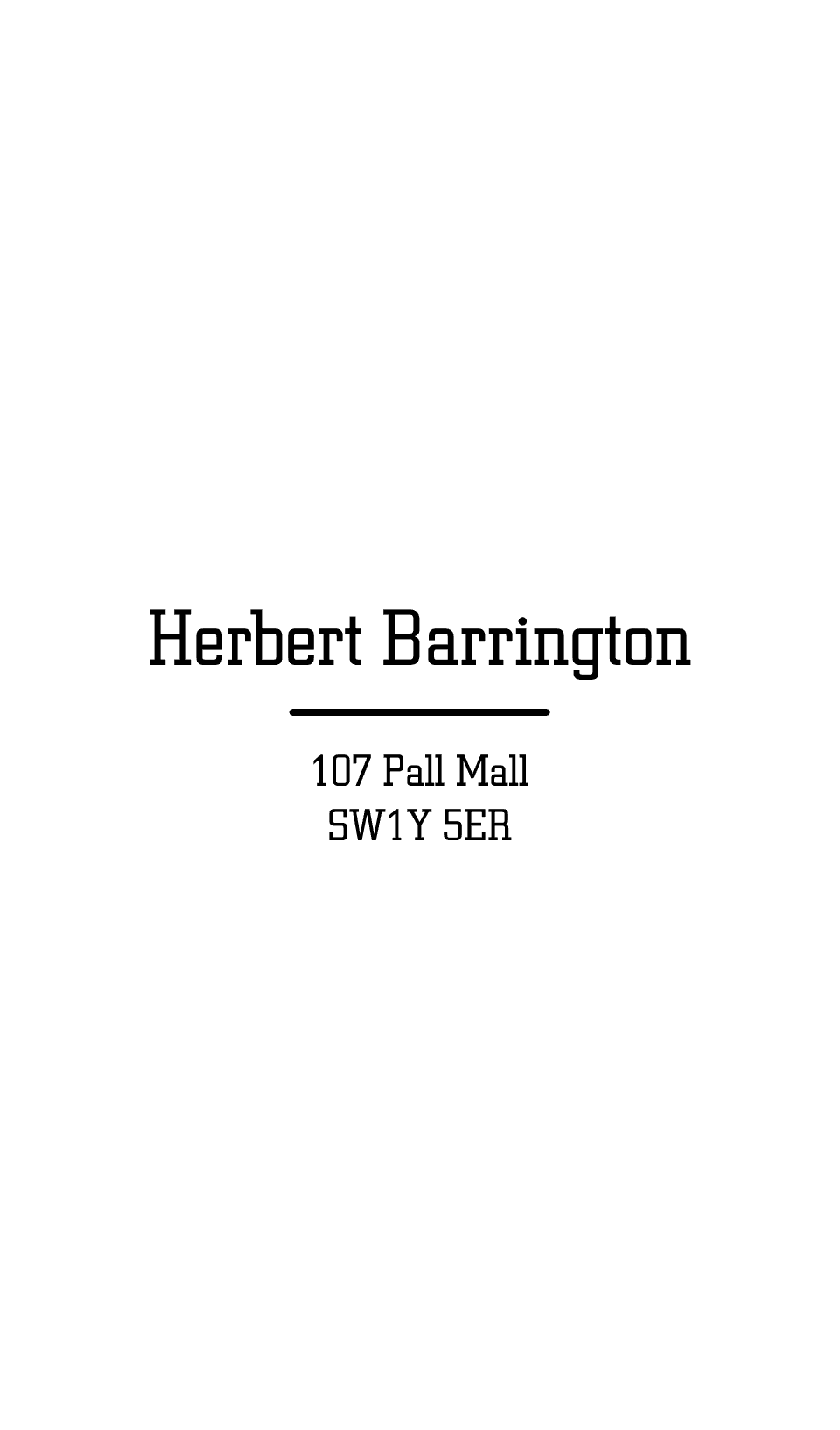Personalised Stationery : Berkeley : Barrington