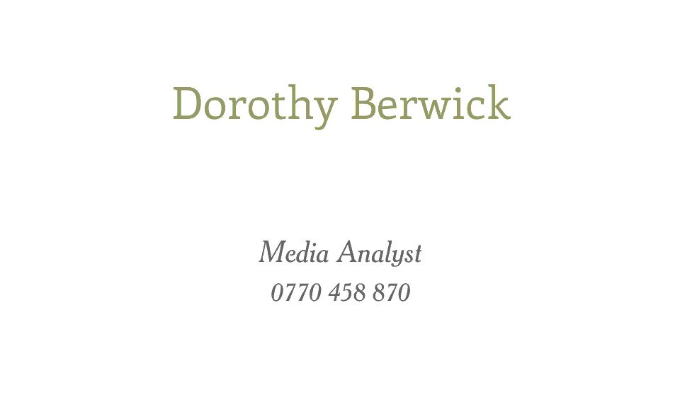Berwick Berkeley | Design, proof and buy online | Personalised Stationery