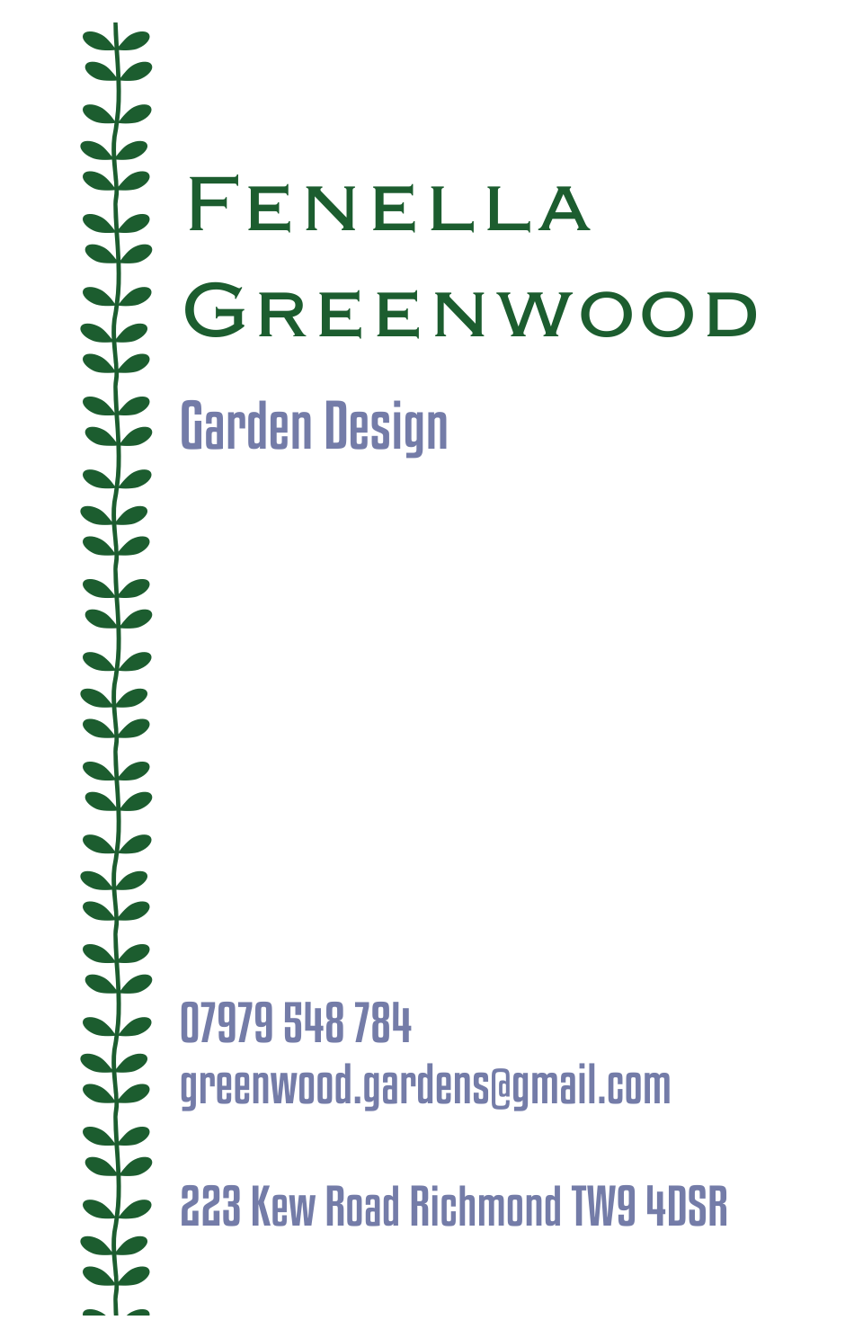 Greenwood Kensington | Design, proof and buy online | Personalised Stationery