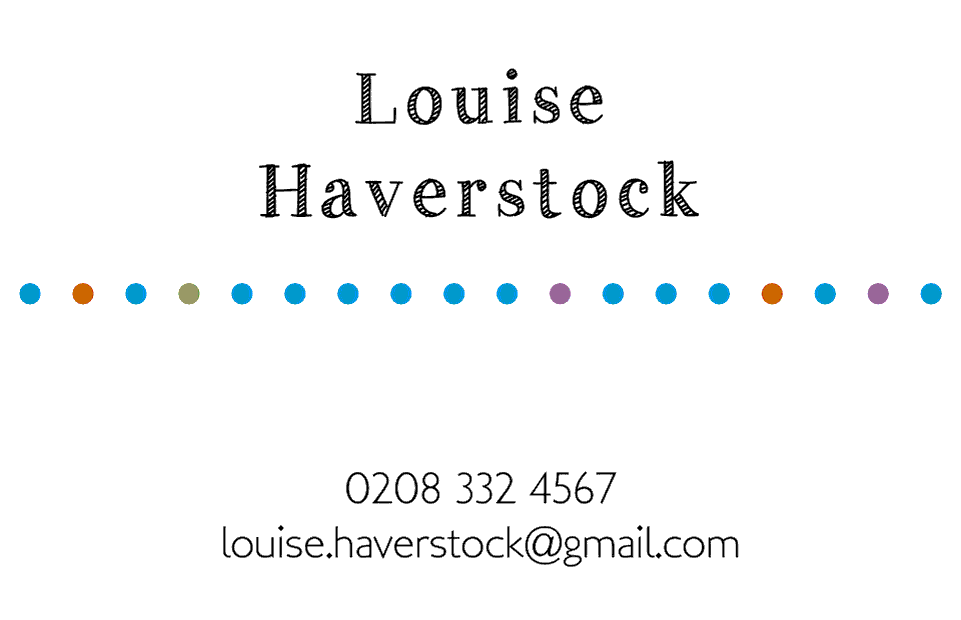 Haverstock Business Cards Ultra-Twin | Design, proof and buy online | Personalised Stationery