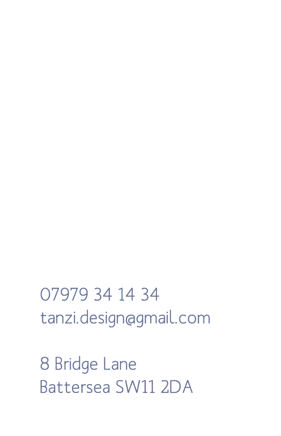 Lattanzi Kensington | Design, proof and buy online | Personalised Stationery