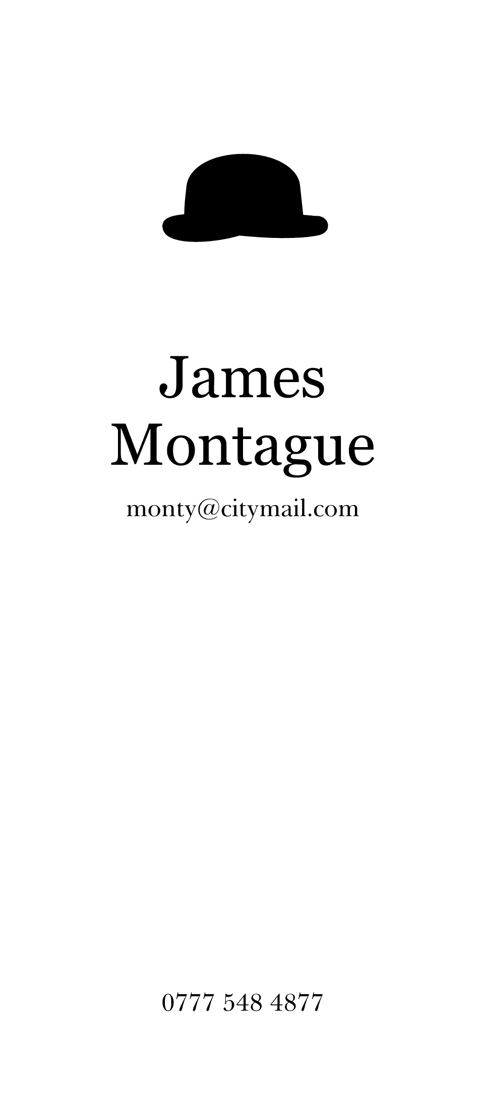 Personalised Stationery : Trafalgar : Montague