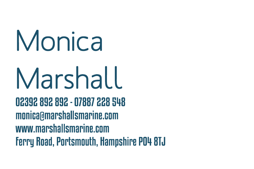 Marshall Business Cards Ultra-Twin Foiled | Design, proof and buy online | Personalised Stationery