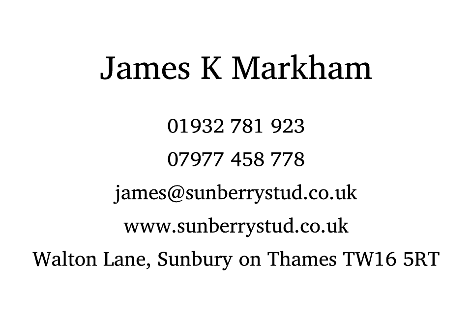 Sunbury Business Cards Ultra-Twin Foiled | Design, proof and buy online | Personalised Stationery