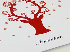 Design and proof your personalised Invitations Christmas Party
