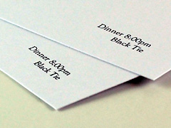 Design and proof your personalised Invitations Formal